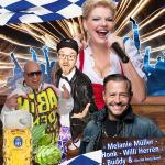 Party Nacht im Hofbräu Berlin | Melanie Müller, Willi Herren, Buddy und HONK