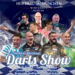 Dart im Hofbräu Wirtshaus Berlin | Rob Cross, Gerwyn Price, Christo Reyes, Darius Labanauskas, Rusty-Jake Rodriguez und Mark Webster